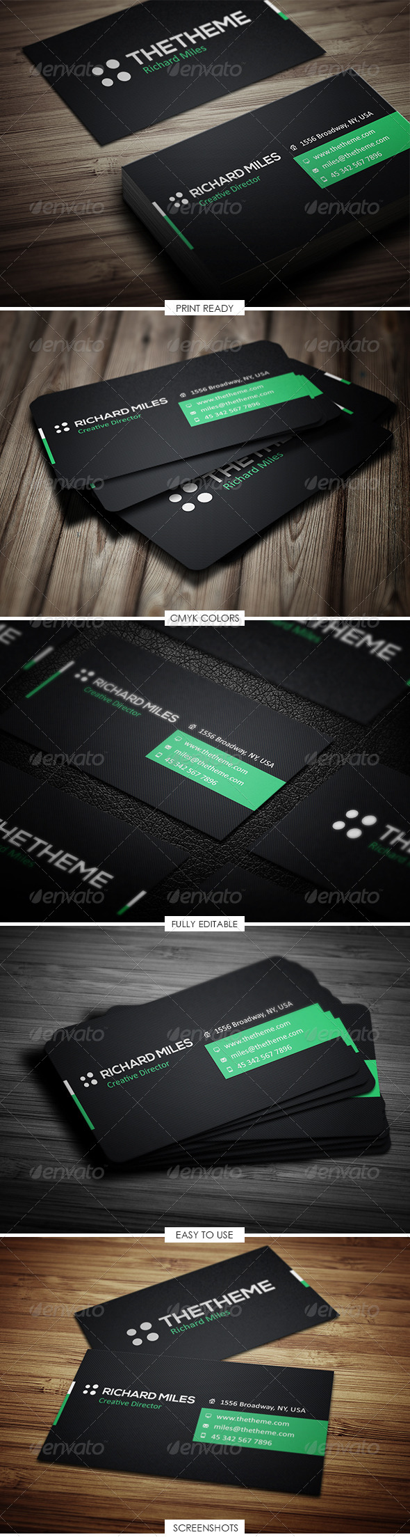 GraphicRiver Corporate Business Card 5114340