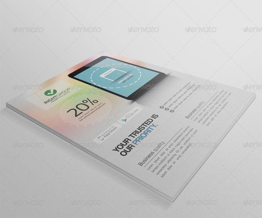 Mobile App Promotion Flyer Vol.2