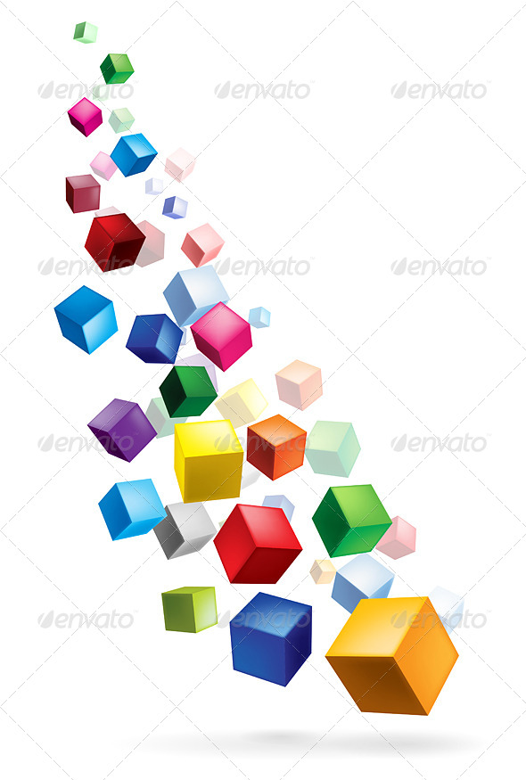GraphicRiver Cubes 5180238
