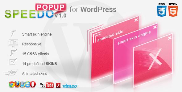 CodeCanyon WordPress Speedo Popup Lightbox 5175603