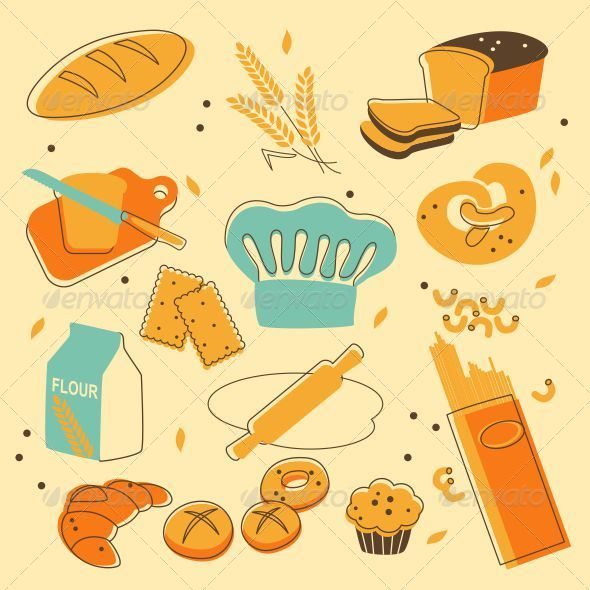 GraphicRiver Bakery Set 5180281