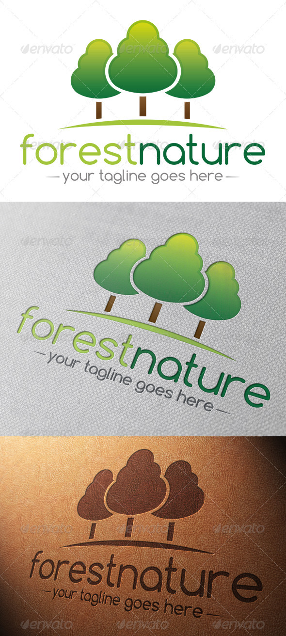 Forest Nature Logo Template - Nature Logo Templates