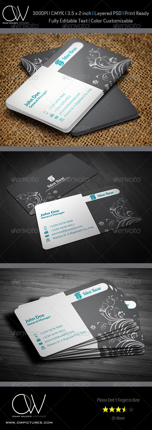 GraphicRiver Corporate Business Card Vol.31 5180774