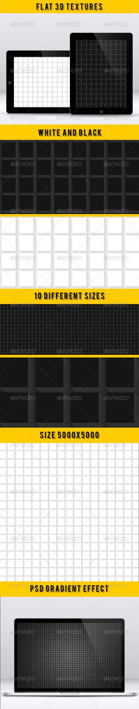 Flat 3D Textures - Textures