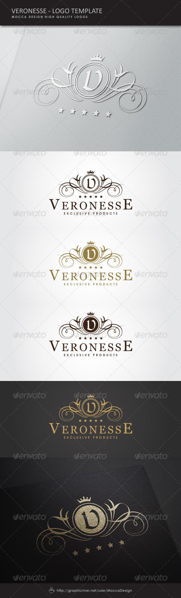 GraphicRiver Veronesse Logo 5181246