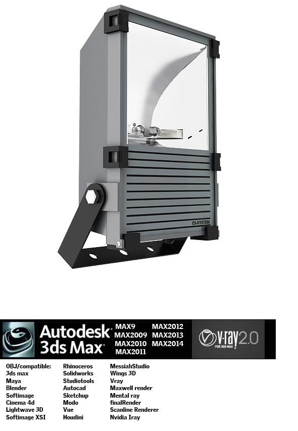 3DOcean Industrial Lighting ES 2 5181341