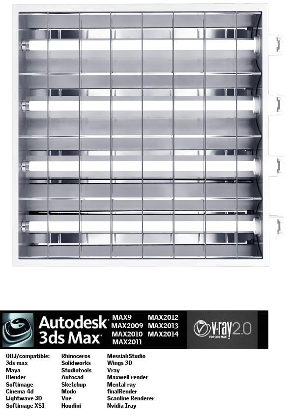 3DOcean Industrial Lighting ES 10 5181379