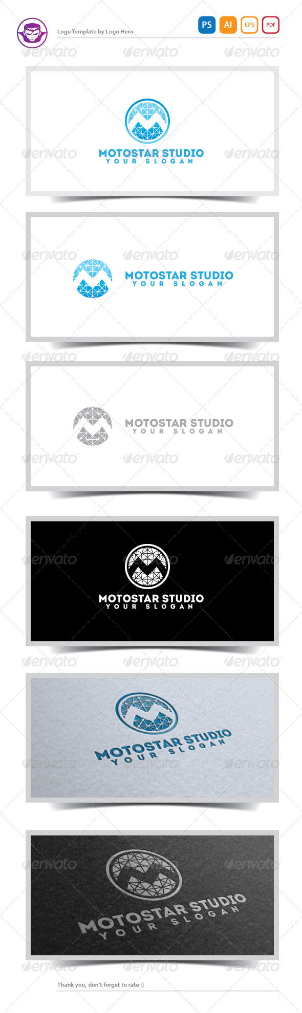 GraphicRiver Motostar Studio Logo Template 5181907