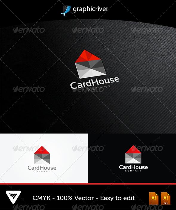 GraphicRiver CardHouse Logo 5181908