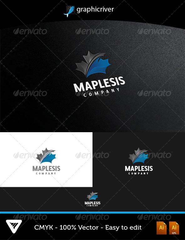 GraphicRiver Maplesis Logo 5181959