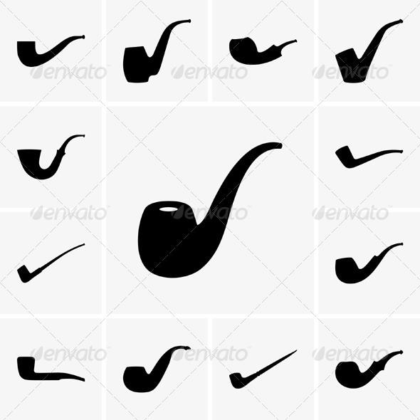 GraphicRiver Tobacco Pipes 5182044