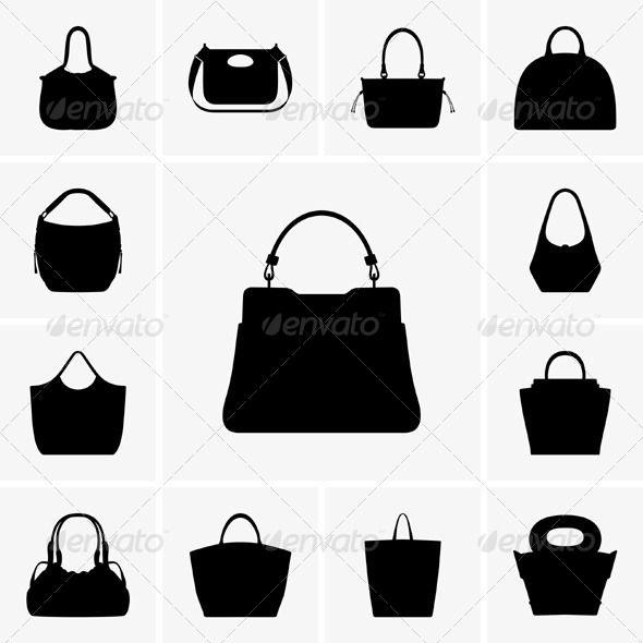 GraphicRiver Set of Bags 5182045