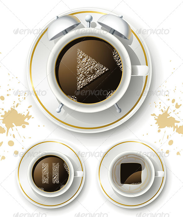 GraphicRiver Coffee Pause Start and Stop 5182895