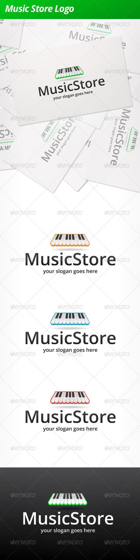 GraphicRiver Music Store Logo 5168771