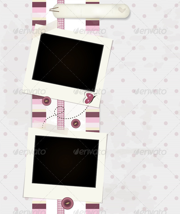 Pink Scrapbook Background