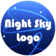 Night Sky Logo Opener - VideoHive Item for Sale