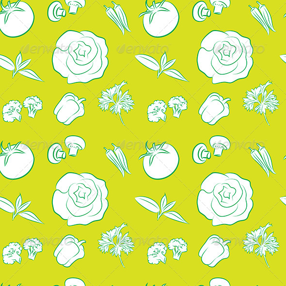 GraphicRiver Seamless Pattern with Vegetables 5184822