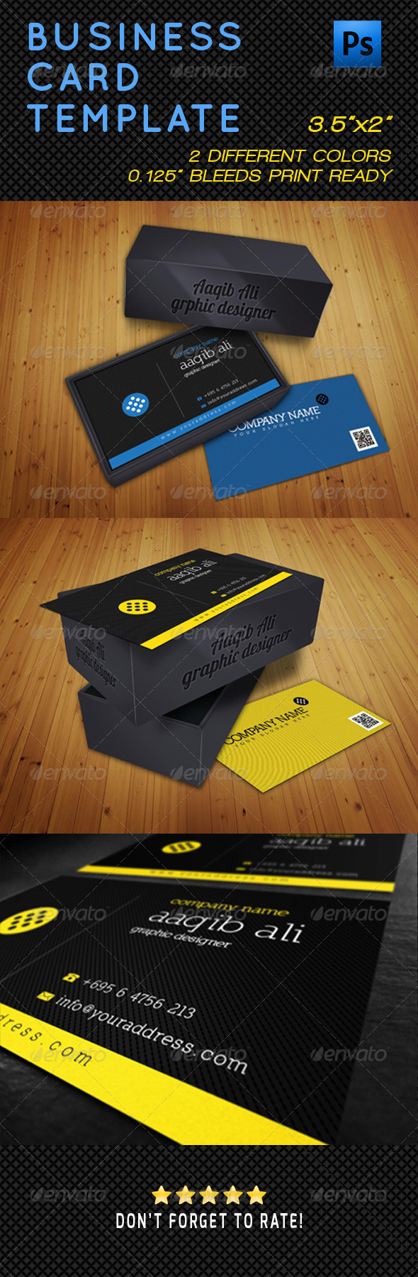 GraphicRiver Business Card Template 5085606