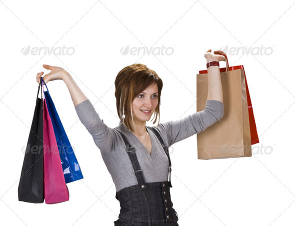 Happy Shopping - Stock Photo - Images