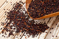 black quinoa scoop - PhotoDune Item for Sale