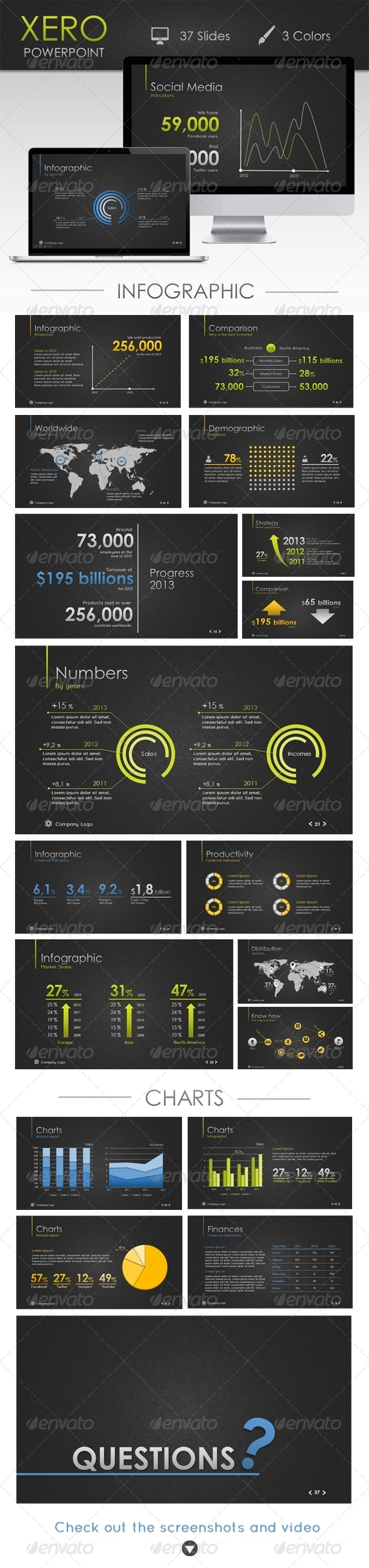 GraphicRiver Xero Powerpoint Template 5178712