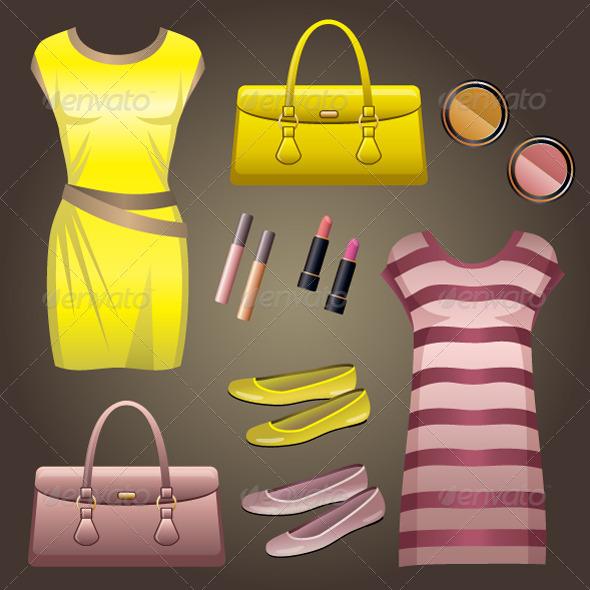 GraphicRiver Fashion Set 5186048