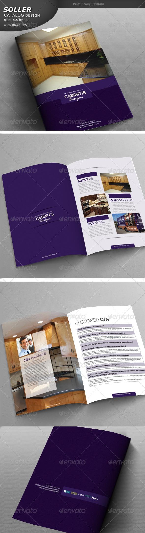 GraphicRiver Cabinet Brochure 5186054