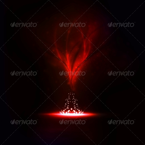 GraphicRiver Abstract Magic Fire 5186243
