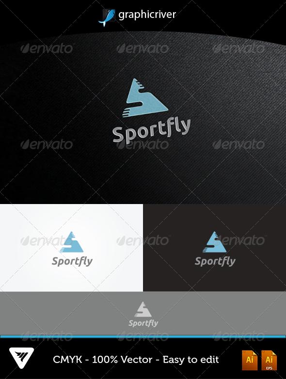 GraphicRiver Sportfly Logo 5172856