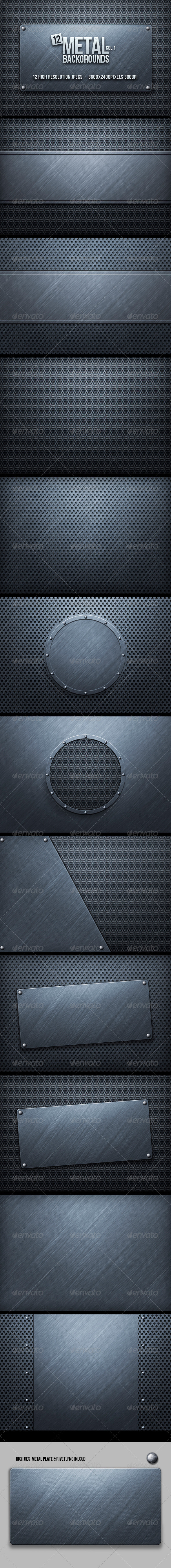 Metal Backgrounds - Tech / Futuristic Backgrounds