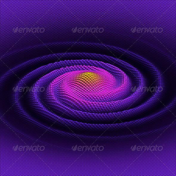 GraphicRiver Abstract Background Galaxy 5165461