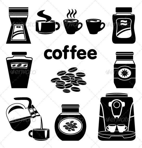 GraphicRiver Coffee Set 5188156