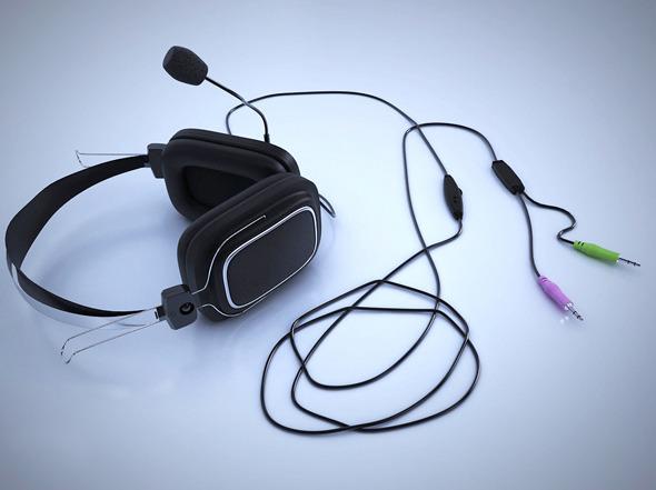 3DOcean Realistic Headphones 533146