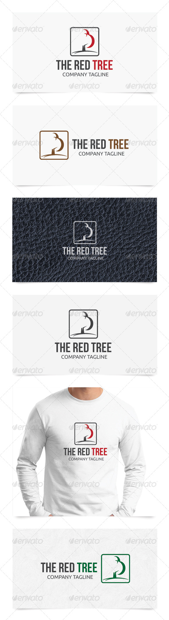 GraphicRiver The Red Tree 5188555