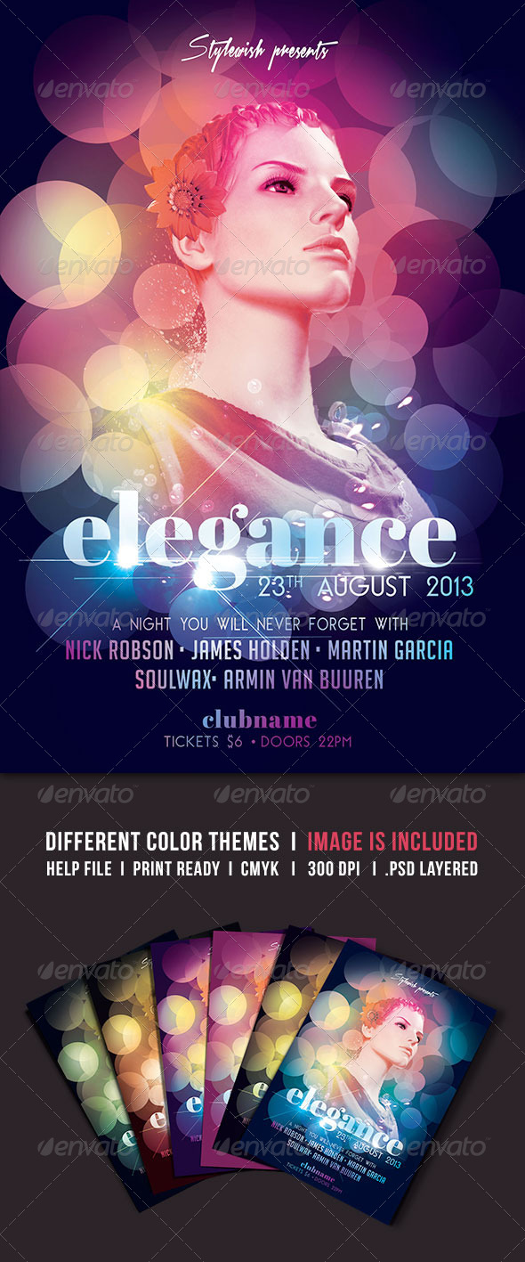 GraphicRiver Elegance Flyer 5188738