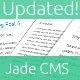 Jade CMS for PHP