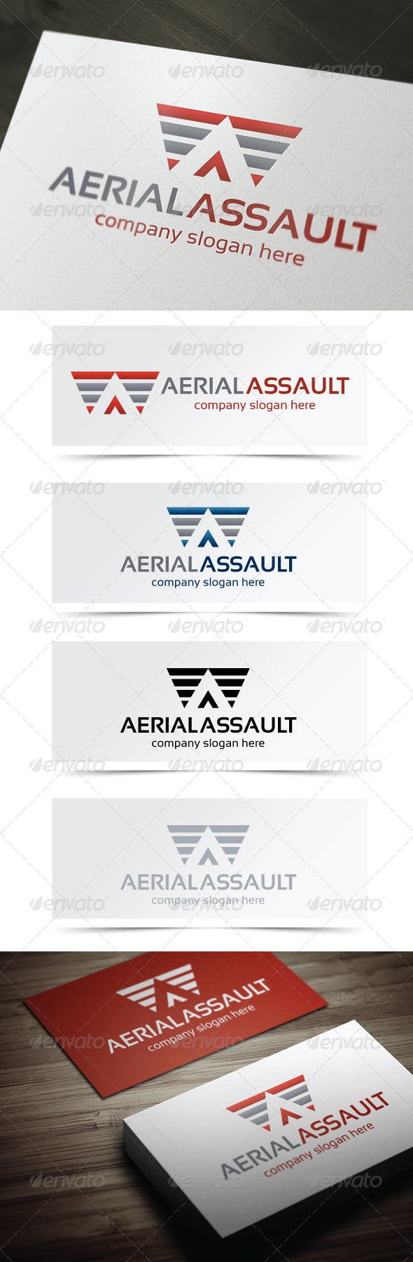 GraphicRiver Aerial Assault 5189116