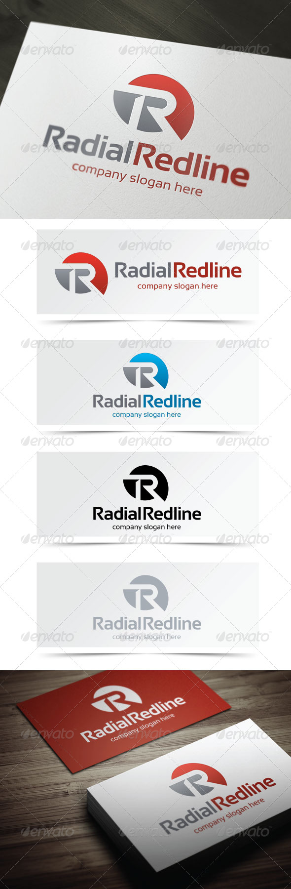 GraphicRiver Radial Redline 5189135