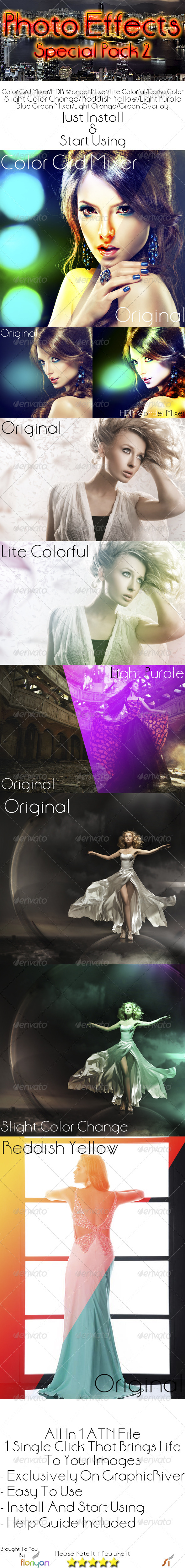 GraphicRiver Photo Effects Special Pack 2 5189273