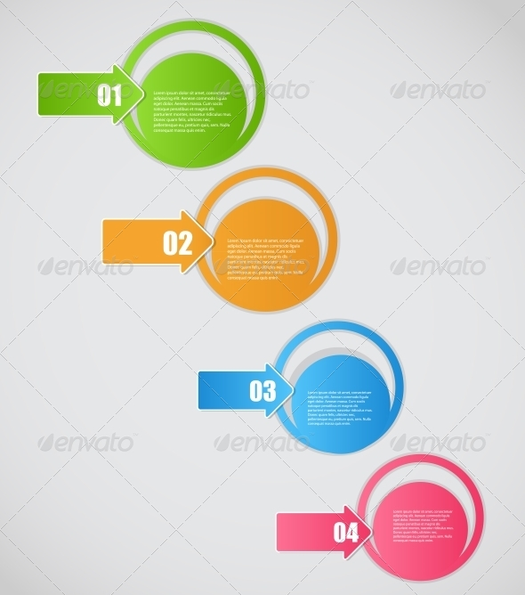 GraphicRiver Infographic Business Template 5189369