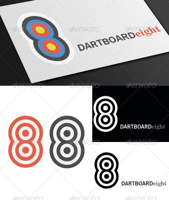 GraphicRiver Dartboard 8 Logo Template 5189622