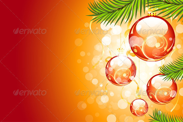 GraphicRiver Christmas Background 533531