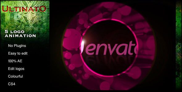 After Effects Project - VideoHive Five Colour Logo Rings 231819