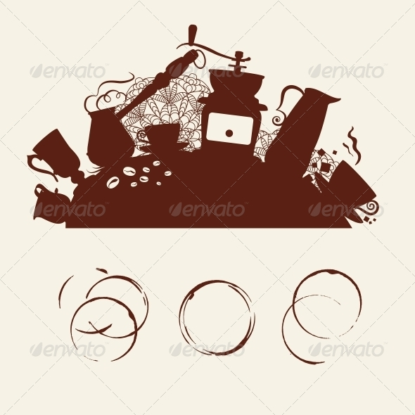 GraphicRiver Coffee Abstraction 5190386