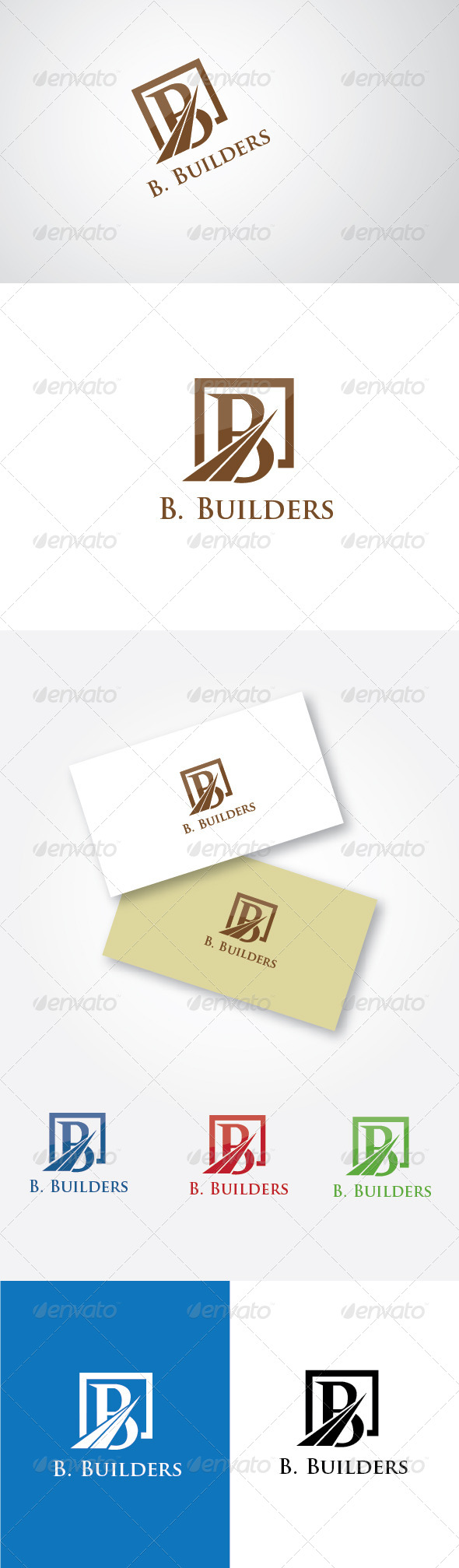 GraphicRiver B Builders 5190425