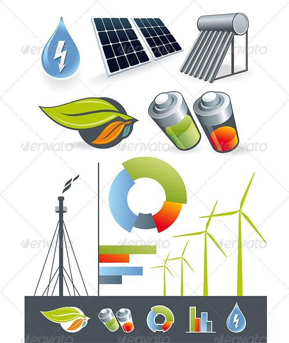 GraphicRiver Alternative Energy Sources 5191059