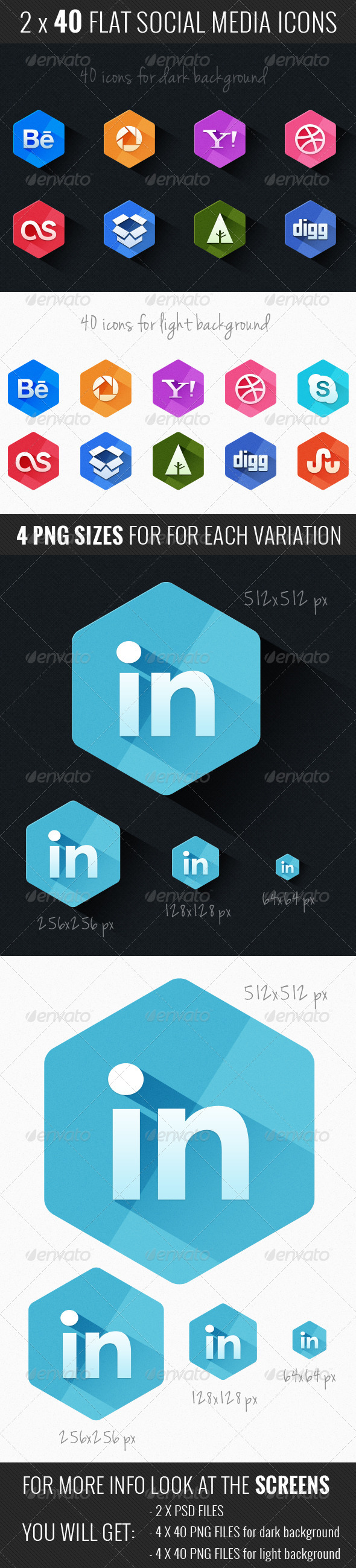GraphicRiver Social Icons 5125478