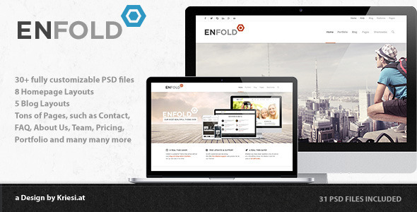 ThemeForest Enfold PSD 5189320