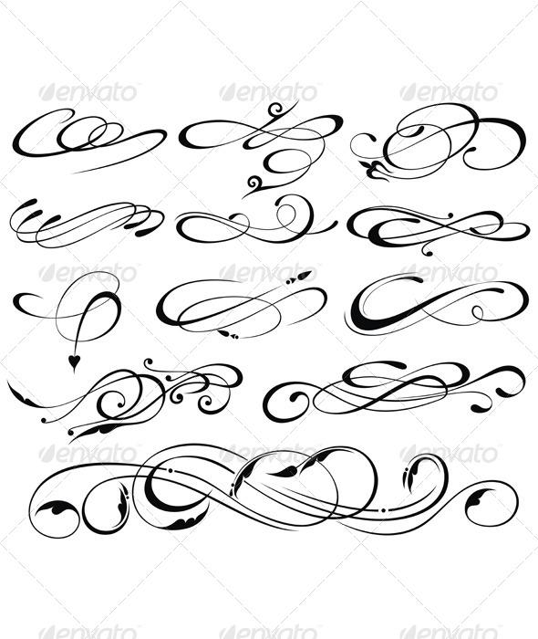 GraphicRiver Floral Elements 5191589