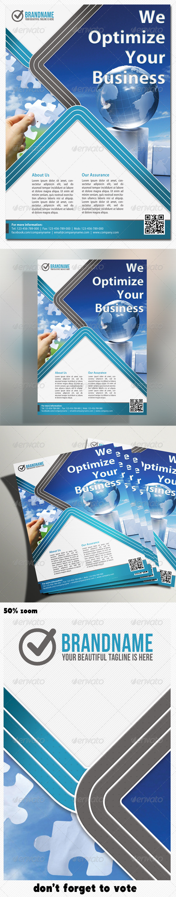 Corporate Product Flyer 10 - Corporate Flyers